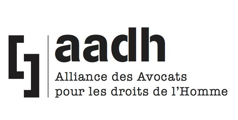 Alliance des avocats pour les droits de l'Homme (AADH) logo