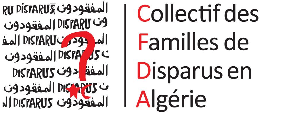 Collectif des familles de disparus en Algérie (CFDA) logo