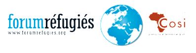 Forum réfugiés – COSI (FR- C) logo