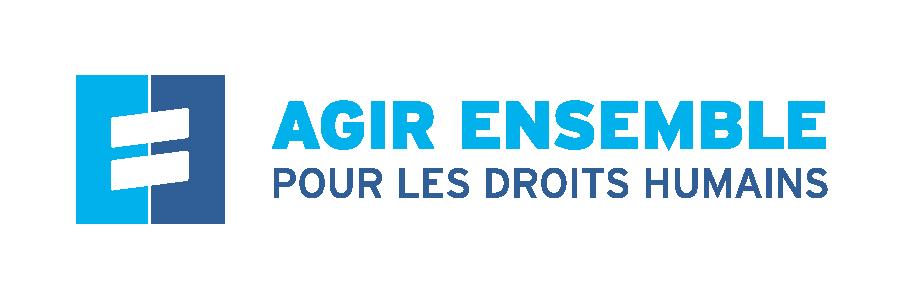 Agir ensemble pour les droits humains (AEDH) logo